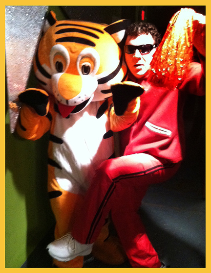 Jeff and Touchdown Tiger